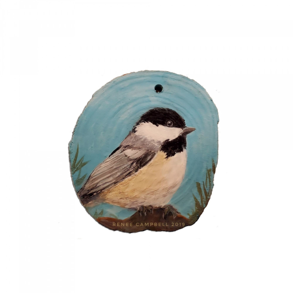 Chickadee Ornament