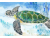 Original Watercolor, Example of Sea Turtle - Made to Order
